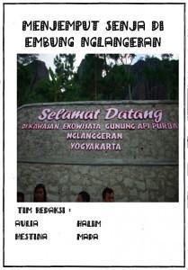 Embung Nglanggeran edition 1 cover