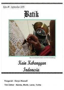 Batik edition 1 cover