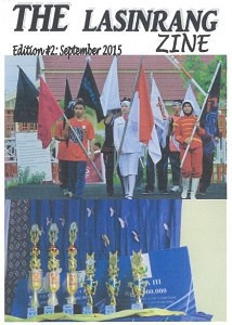 The Lasinrang Zine edition 2 cover