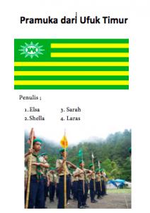 Pramuka dari Ufuk Timur edition 1 cover